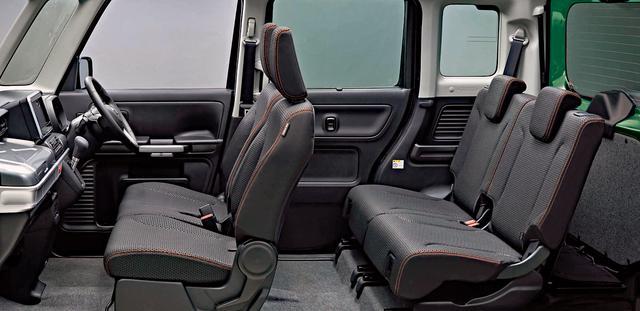 画像: フレアワゴン タフスタイルXT(2WD)のインテリア。