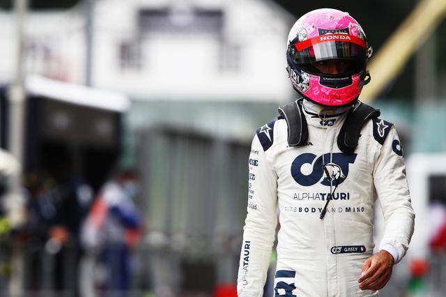 画像: ピエール・ガスリー(アルファタウリ・ホンダ)。Q3に進出したもののコースインのタイミングがうまくいかず10番手。