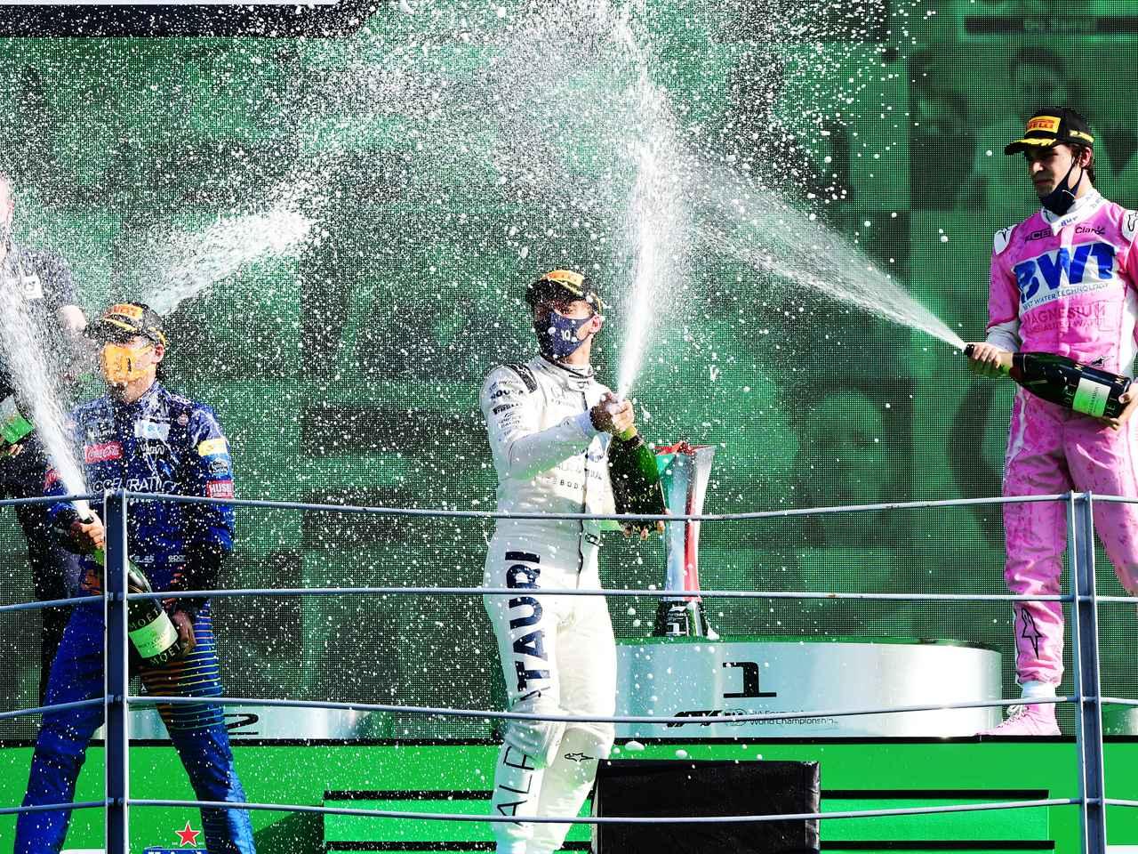 Images : 1番目の画像 - 2020年第8戦イタリアGP 決勝 - Webモーターマガジン