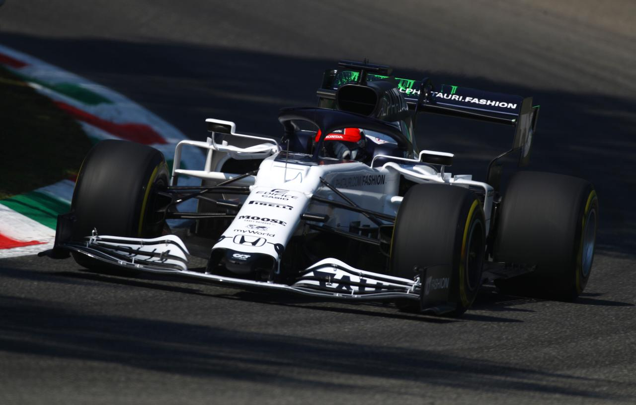 画像: ダニール・クビアト(アルファタウリ・ホンダ)予選11位、決勝9位。ハードタイヤでの決勝スタートはセーフティカーの導入でうまく機能しなかったが、9位のポジションを守ってフィニッシュ。