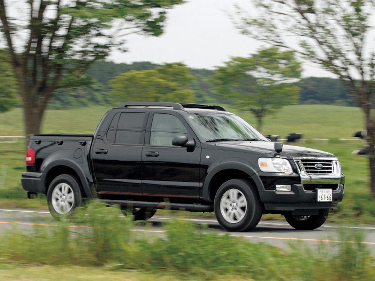 Images : 1番目の画像 - フォード エクスプローラー スポーツトラック - Webモーターマガジン