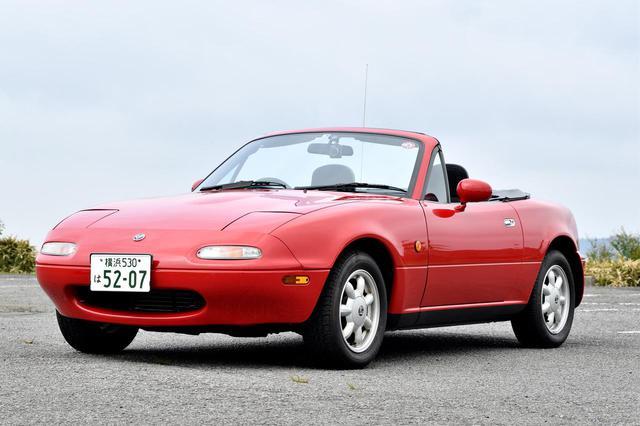 画像: 1989年の初代デビュー当時は1.6L直4エンジンを搭載していたが、1993年のマイナーチェンジで1.8L直4(130ps / 16.0kgm)に拡大した。