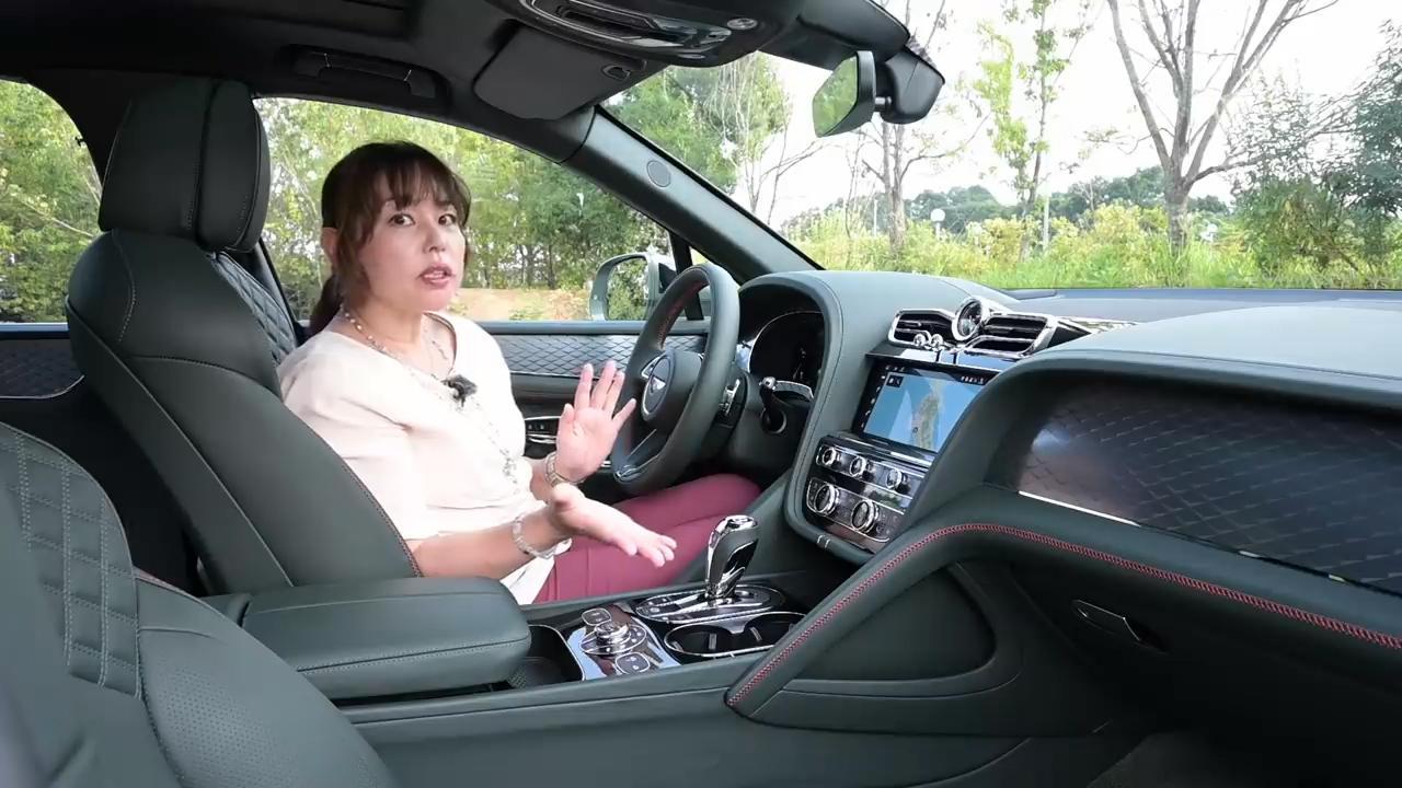画像: 【動画】竹岡 圭のクルマdeムービー「ベントレー ベンテイガ V8」(2020年9月放映)
