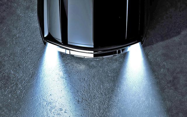 画像: 画像加工ソフトで少し明るくしてみたが、これだけではベース車は分かりそうにない・・・。