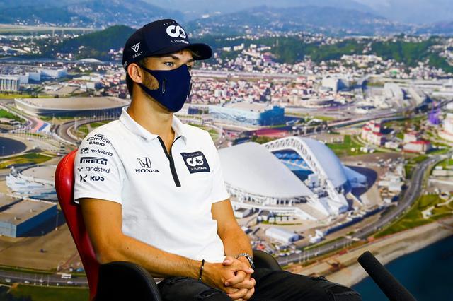 画像: イタリアGPの優勝から一転、トスカーナGPでは不運に見舞われたピエール・ガスリー(アルファタウリ・ホンダ)。ロシアで真価が問われる。