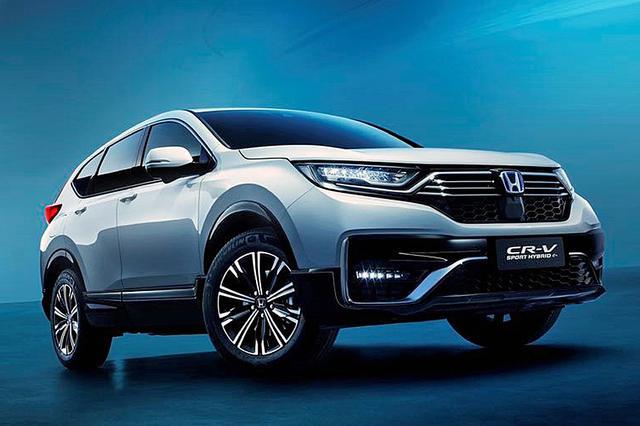 画像: 中国ホンダ初のプラグインハイブリッド搭載車となる「CR-V PHEV」。