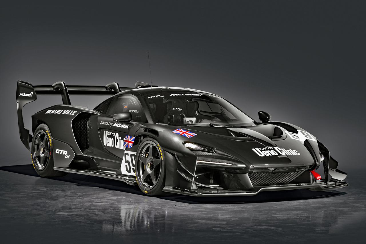 画像: マクラーレン セナ GTR LM「上野クリニックカー」