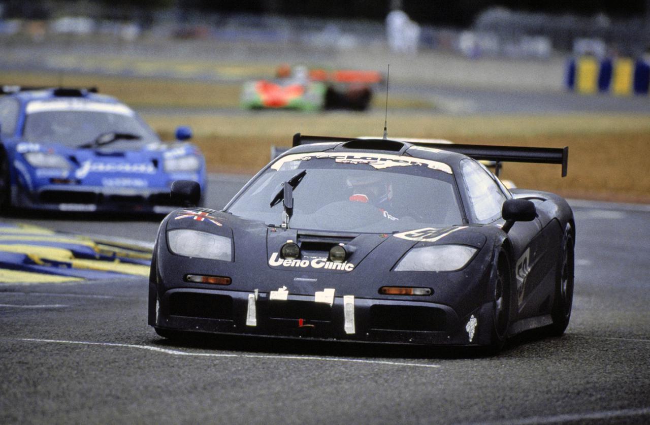 画像: 1995年のル・マン24時間レースで優勝したマクラーレン F1 GTR。
