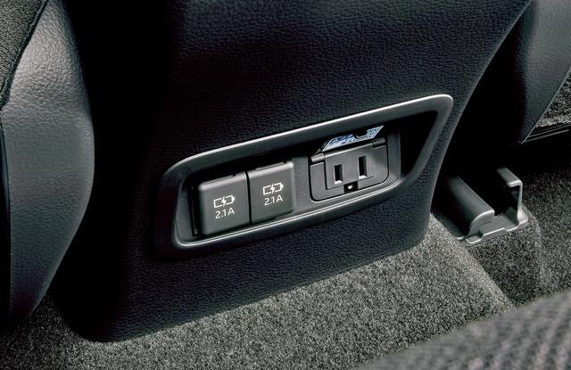 画像: AC100V・1500W/非常時給電システム付きのアクセサリーコンセント