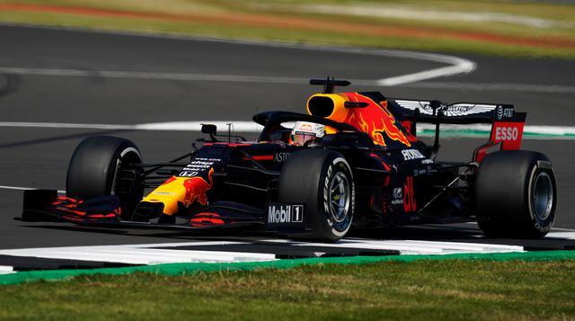 画像: 2020年F1第5戦70周年記念GPを制したマックス・フェルスタッペン(レッドブル・ホンダ)。
