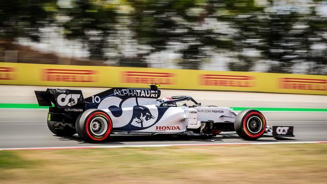 画像: 2020年F1第8戦イタリアGPを制したピエール・ガスリー(アルファタウリ・ホンダ)。