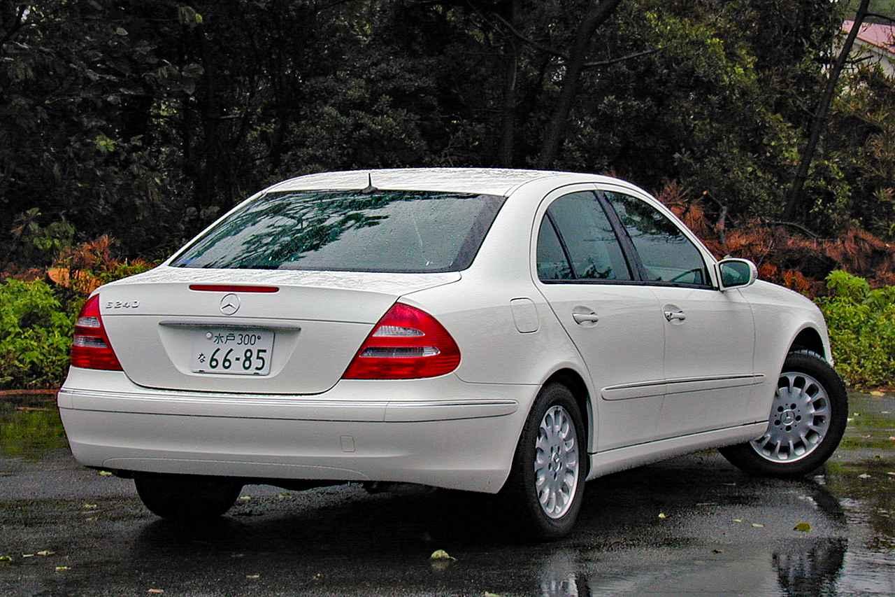 Images : 4番目の画像 - メルセデス・ベンツ E240 - Webモーターマガジン