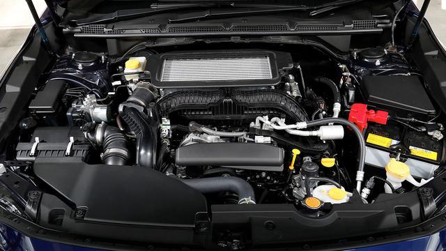 画像: 新開発の1.8L直噴ターボエンジンを搭載。日常での扱いやすさを重視し、低回転域から高トルクを発生。