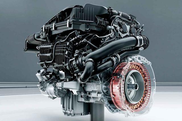 画像: Eクラスクーペ/カブリオレのE450 4マティック+に採用される3L直6ターボエンジンは48Vマイルドハイブリッドシステム「ISG」を採用する。