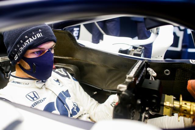 画像: アルファタウリ・ホンダの2台はトップ10ならず。予選12番手のピエール・ガスリー(アルファタウリ・ホンダ)は、決勝でどんなタイヤ戦略を選択するか。