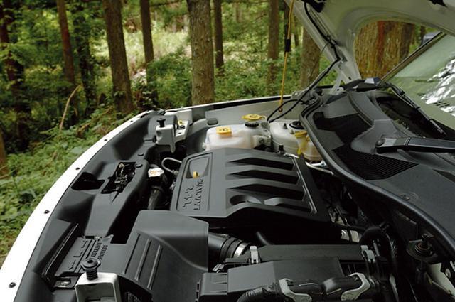 画像: ジープ パトリオット リミテッドにはダッジ キャリバーと同じ2.4Lのクライスラーワールドエンジンが搭載される。
