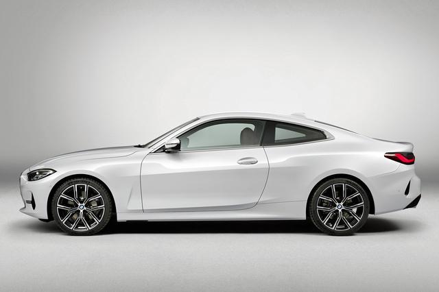 画像: BMWのクーペ伝統の美しいシルエット。ホイールベースは3シリーズと共通だが、全長は50mm、全幅は25mm拡大されている。