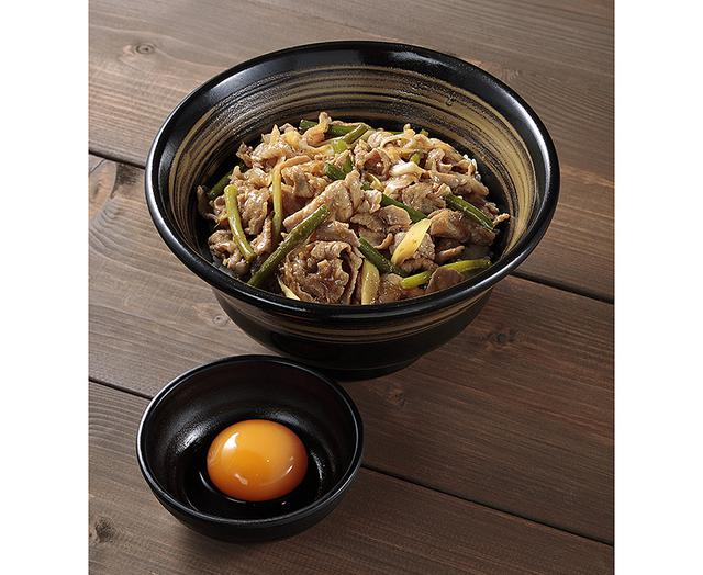 画像: 豚肉とニンニクをたっぷりと使った、「豚's ROAD」の「元気が出る丼」(980円)。