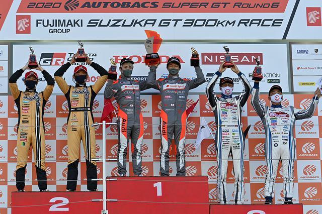 画像: この表彰台に乗った3組が揃って年間ランキングTOP10に加わった。