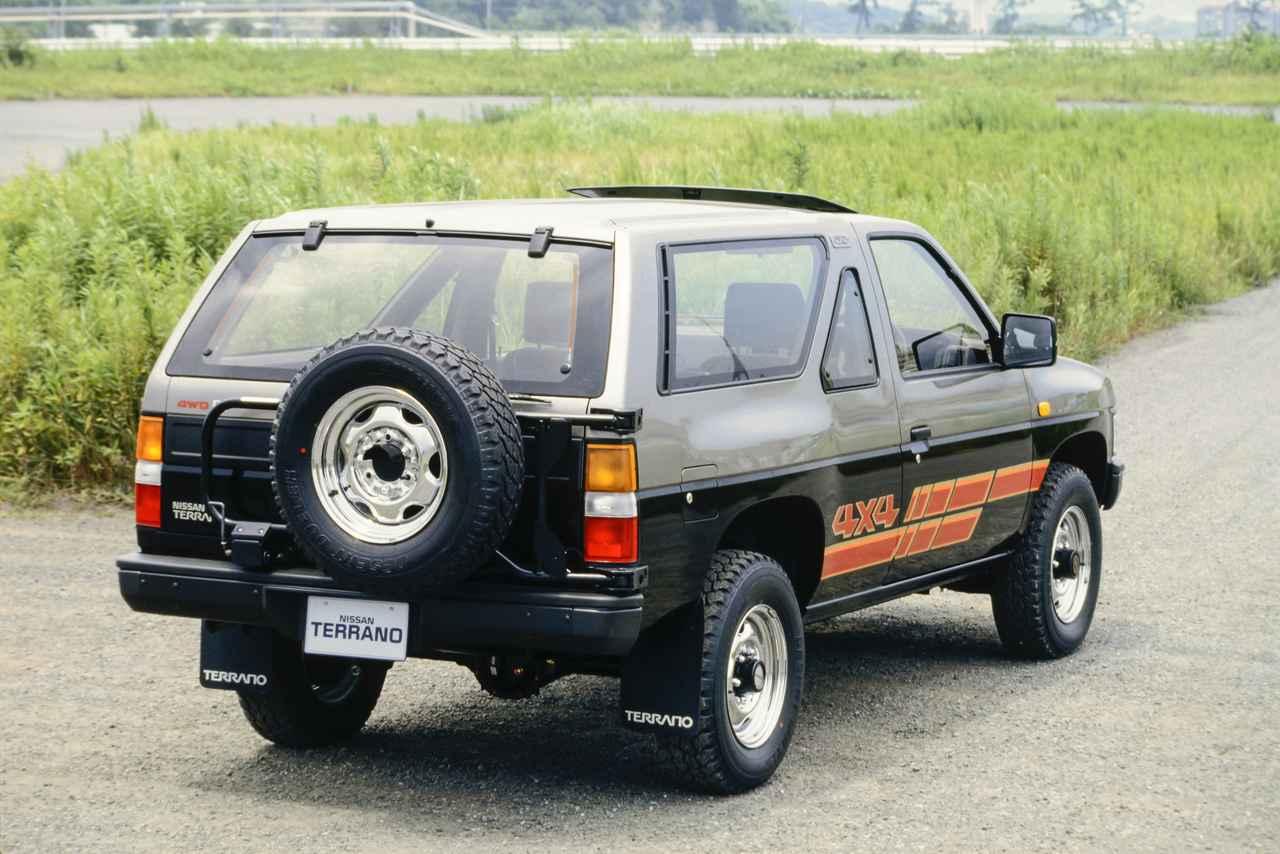 画像: ワンタッチ操作が可能な背面タイヤはオプション設定だった。