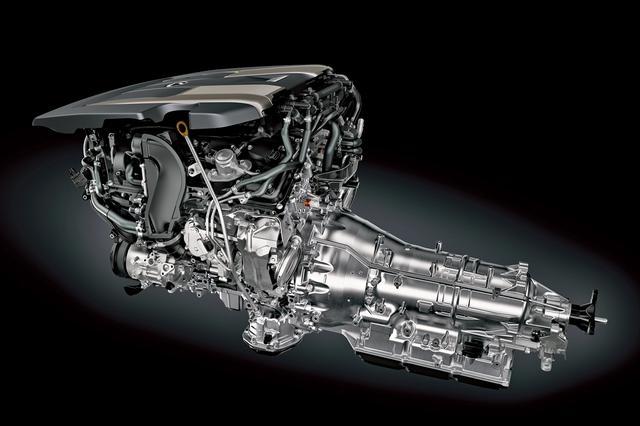 画像: LS500に搭載される3.5LのV6ツインターボエンジン。
