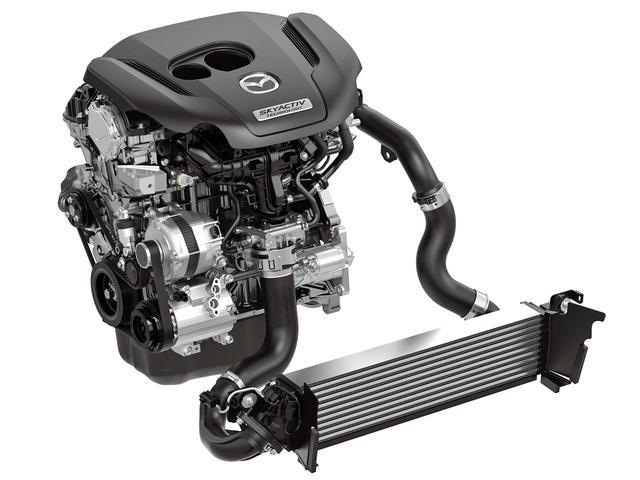 画像: 2.5Lのガソリンターボエンジン「SKYACTIV-G 2.5T」。