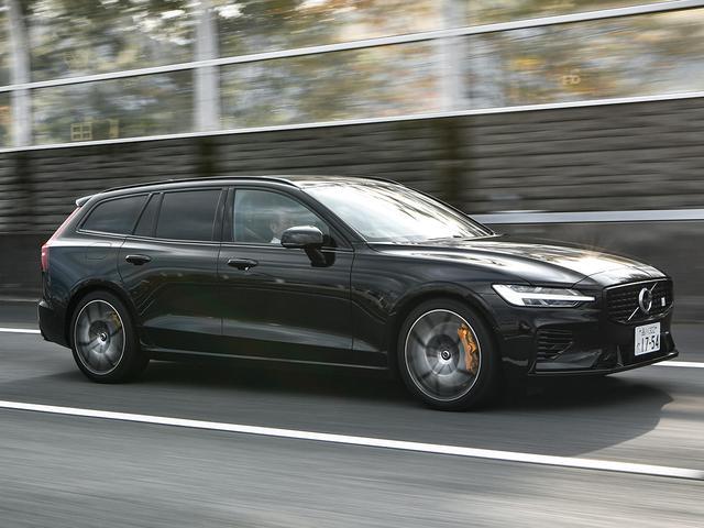 画像: EV走行換算距離42km(XC60は40km)というプラグインハイブリッドとして高い環境性能も備えている。<V60T8 ポールスターエンジニアード>