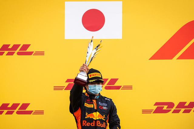 画像: 角田裕毅。2019年から欧州で転戦、FIA F3、FIA F2をわずか2年でクリアして、2021年からF1に挑戦する。