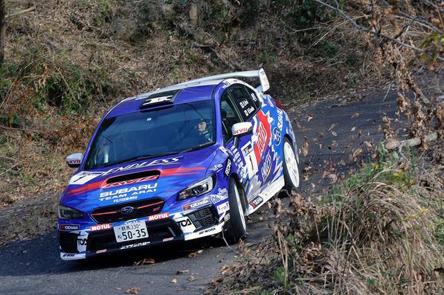 画像: 全日本ラリー選手権JN1クラスでタイトルを獲得したSUBARU WRX STI。新井大輝がドライブ。
