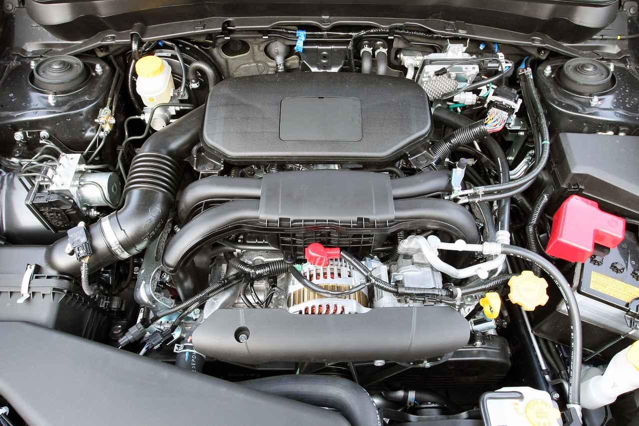 画像: レガシィにも採用されている2.5L SOHCエンジンは170ps/23.4kgmという必要十分なスペックを持ちながら、エコカー減税に対応している。