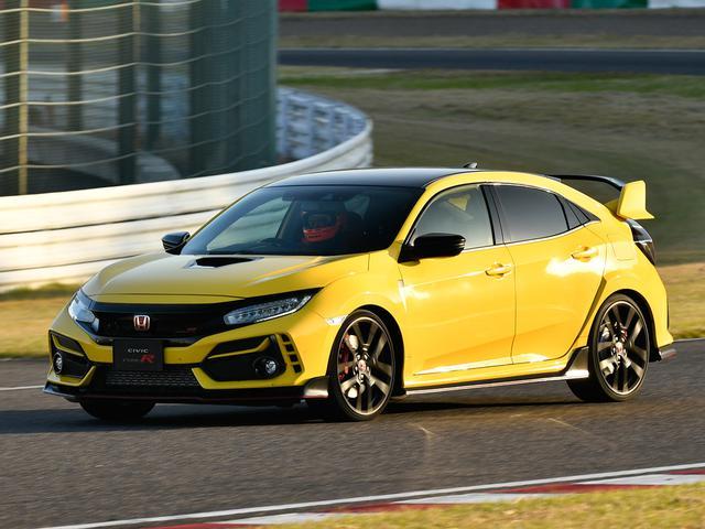 画像: 車体の軽量化や専用装備によって、ピュアなスポーツ性能をさらに追及したシビックタイプR リミテッドエディション。