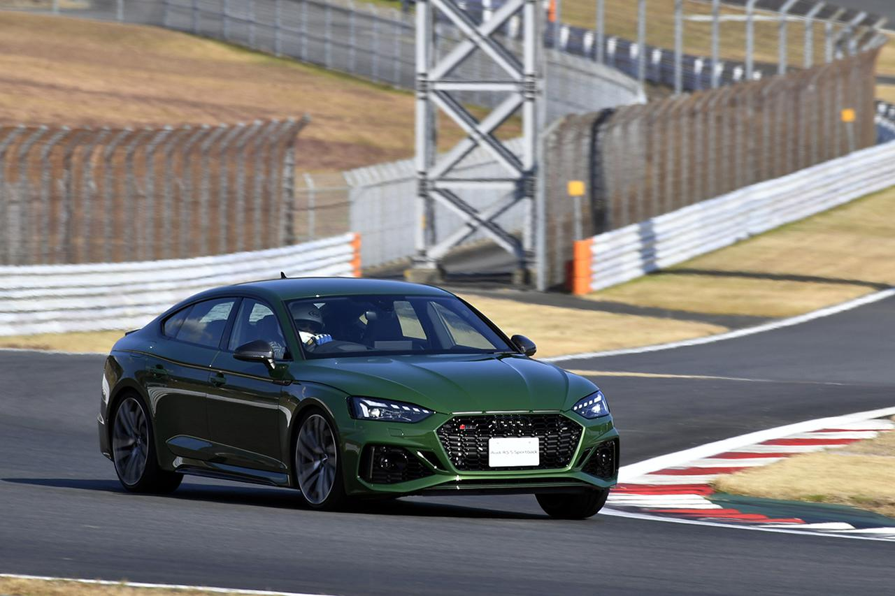 画像: アウディスポーツ車はどのモデルもサーキット走行から普段使いまでオールマイティにこなせるのが特徴である。