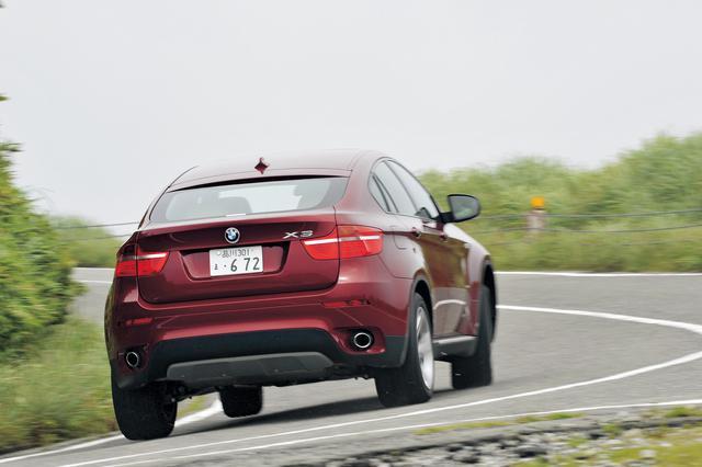 画像: BMWではX6をスポーツ・アクティビティ・クーペ=SACと呼ぶ。クーペフォルムのアッパーボディ部分が高い位置に存在しているのが特徴。