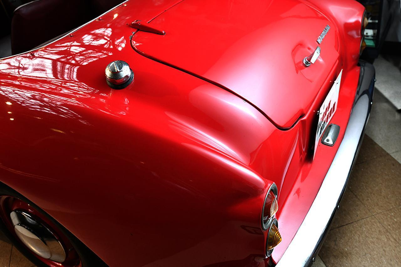 画像: 福山自動車時計博物館に展示されていたダットサン フェアレディ SPL213。