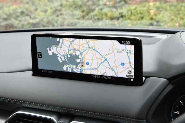 画像: センターディスプレイも10.25インチに拡大された(一部車種に標準装備/他はメーカーオプション)。