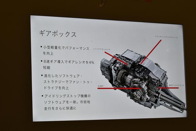画像: 乗りやすさとスポーツ性能をさらに高次元に引き上げた8速DCT。