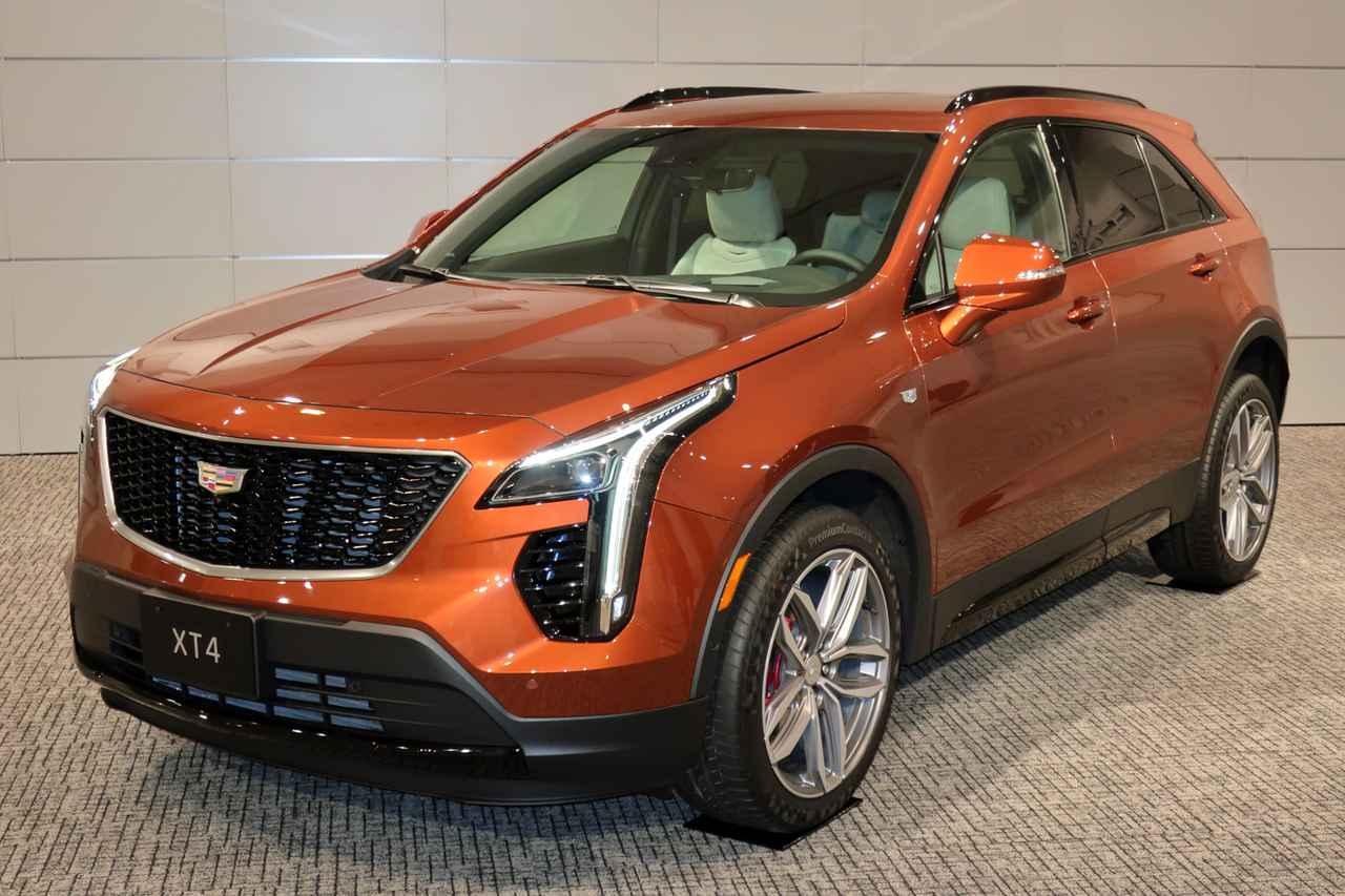 画像: キャデラック XT4 スポーツ。車両価格(税込み)は、640万円。