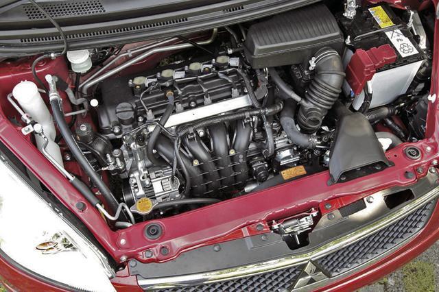 画像: コルトの1.3RXとコルトプラスも含めたベリー、クールベリーの2WD車は発電制御の導入とオルタネーターの効率アップで燃費を向上。