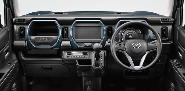 画像: フレアクロスオーバーのインパネまわり(写真は特別仕様車とは異なるXGグレード)。