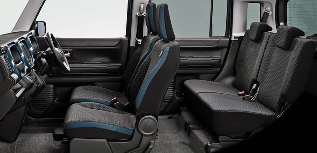 画像: フレアクロスオーバーのインテリア(写真は特別仕様車とは異なるXGグレード)。