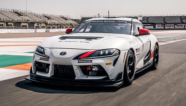 画像: プライベートエントラントのために開発されたレース専用車両「GRスープラGT4」。累計販売台数は20台を超え、2021年は欧州で7台、日本では7台、北米でも5台以上のGRスープラGT4がレースに参戦する。