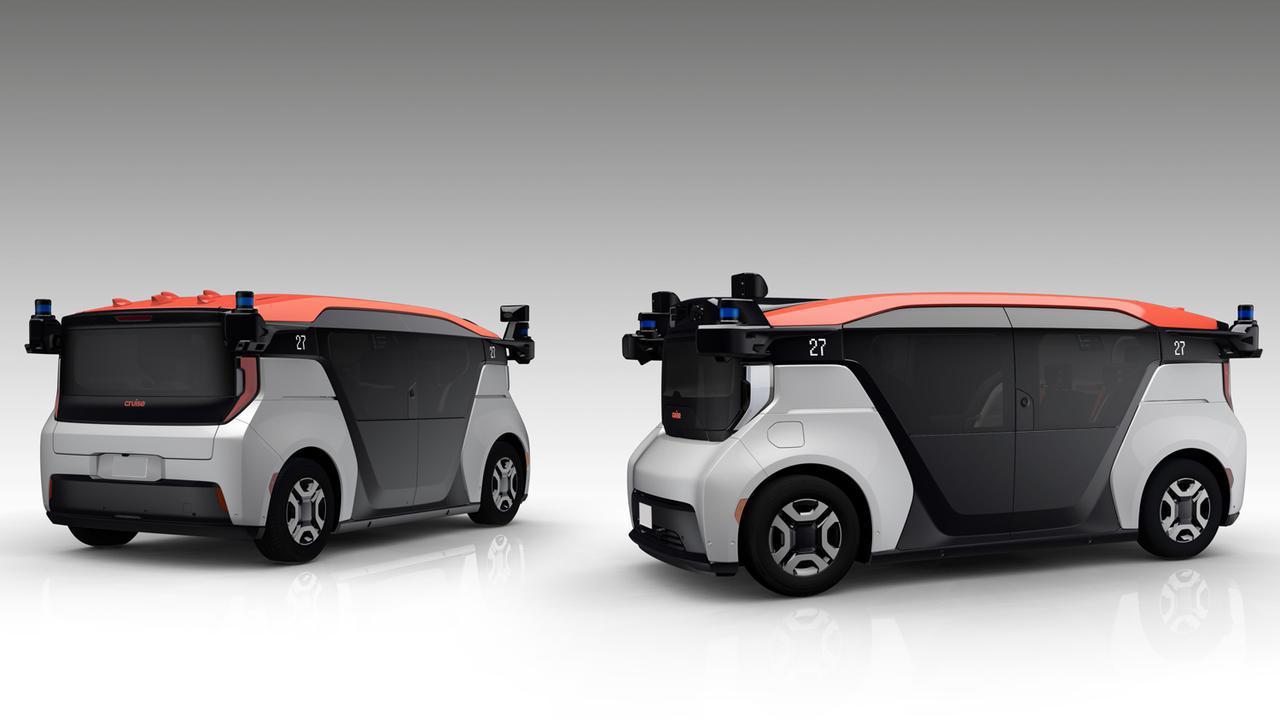 画像: ゼネラルモーターズ(GM)との協業はすでに始まっている。写真はGMのBoltをベースとしたクルーズの試験車両。