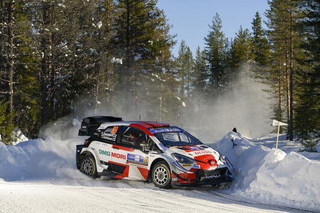 画像: 2位に入ったトヨタのカッレ・ロバンペラ。WRC自己最上位記録してポイントリーダーに浮上した。