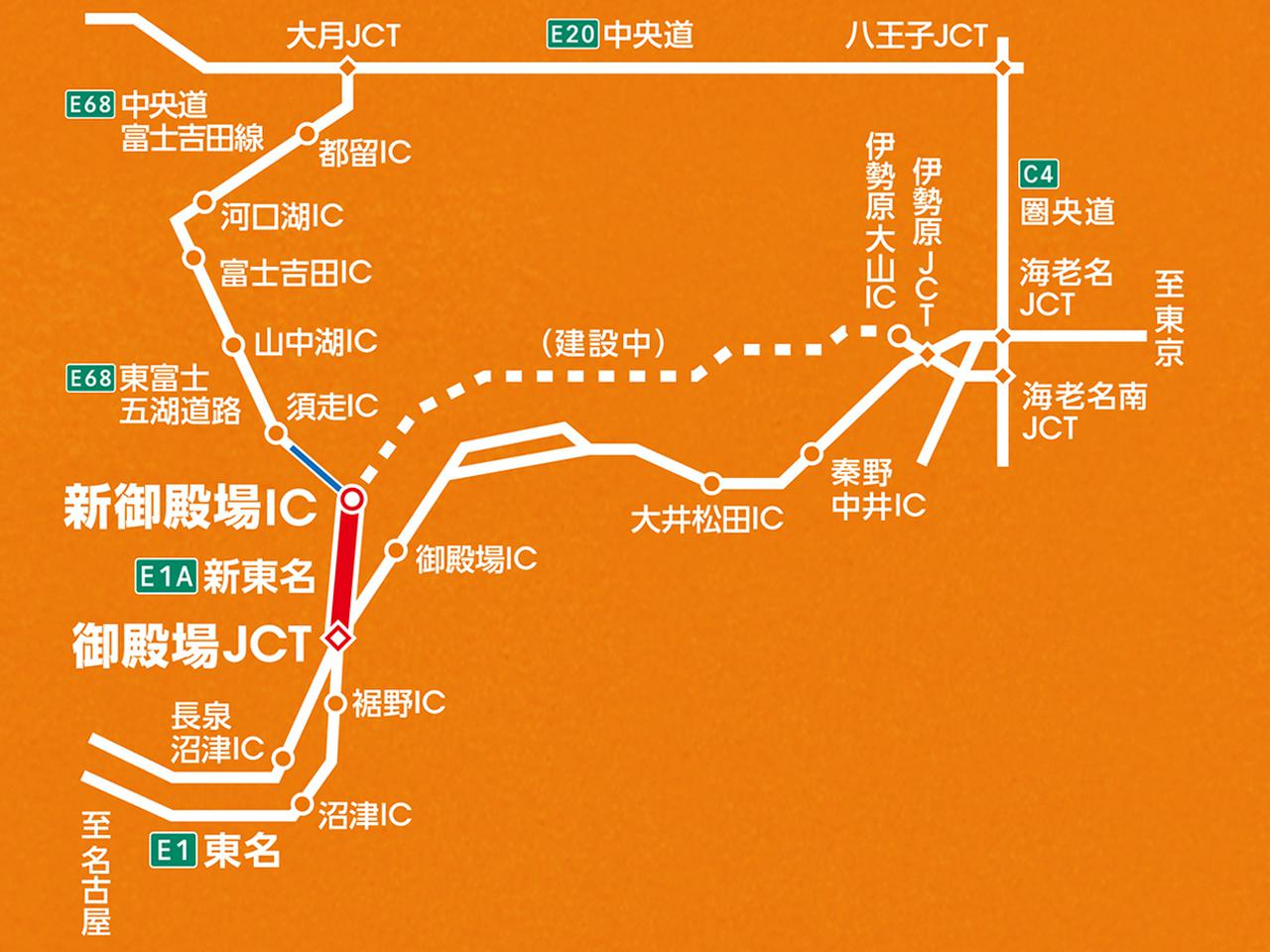 Images : 4番目の画像 - 新東名高速 - Webモーターマガジン