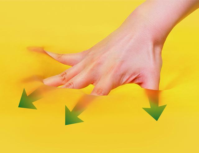 画像: 「エクスジェル」の3つの特性「衝撃吸収」「圧力分散」「密着力」が、座ることで生じる体の痛みを解決する。