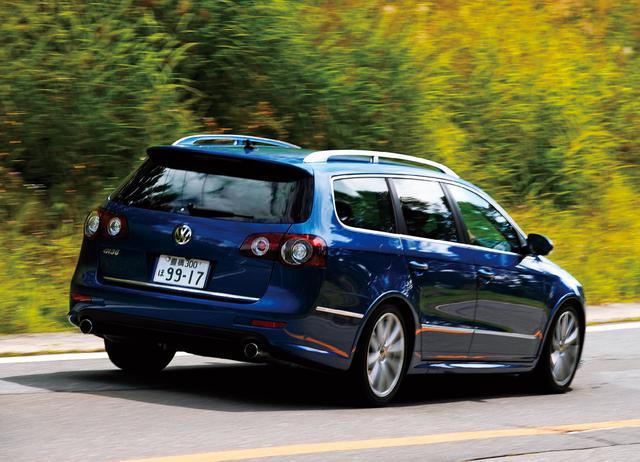 画像: 「VWインディビデュアル」が開発した特別のパサート、ヴァリアントR36は3.6L V6エンジンのパワーを効率よく引き出すために、4モーションと6速DCTと組み合わせるのが大きな特徴となる。0→100km/h加速5.8秒、最高速250km/hというパフォーマンスを発揮する。