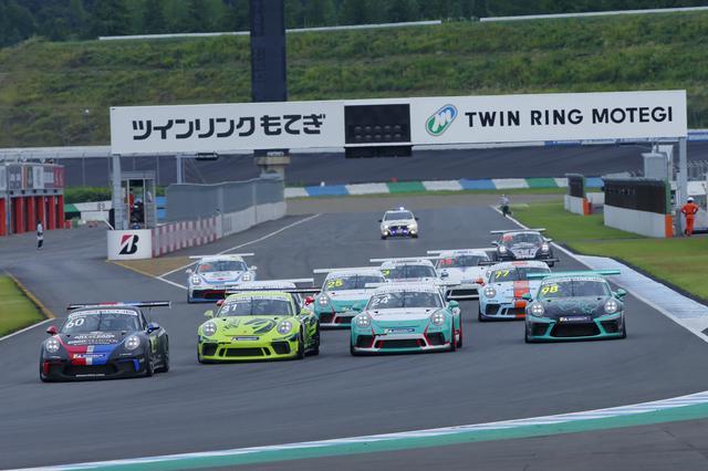 画像: 日本一速いワンメイクレースとして知られる「ポルシェ・カレラカップ・ジャパン」。ミシュランはオフィシャルタイヤサプライヤーとしてサポート。