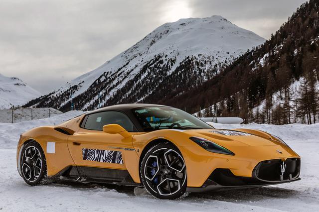画像: さまざまな走行条件での信頼性テストと集中的な寒冷地テストを実施しているMC20。
