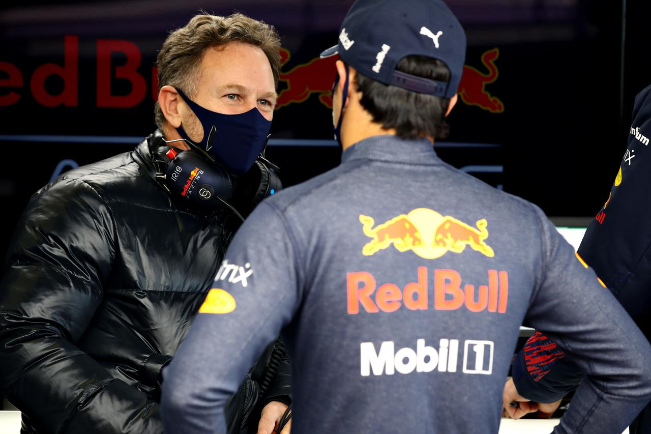 画像: ホンダとともにタイトル獲得を目指して戦うレッドブル・レーシング・ホンダの クリスティアン・ホーナー代表。