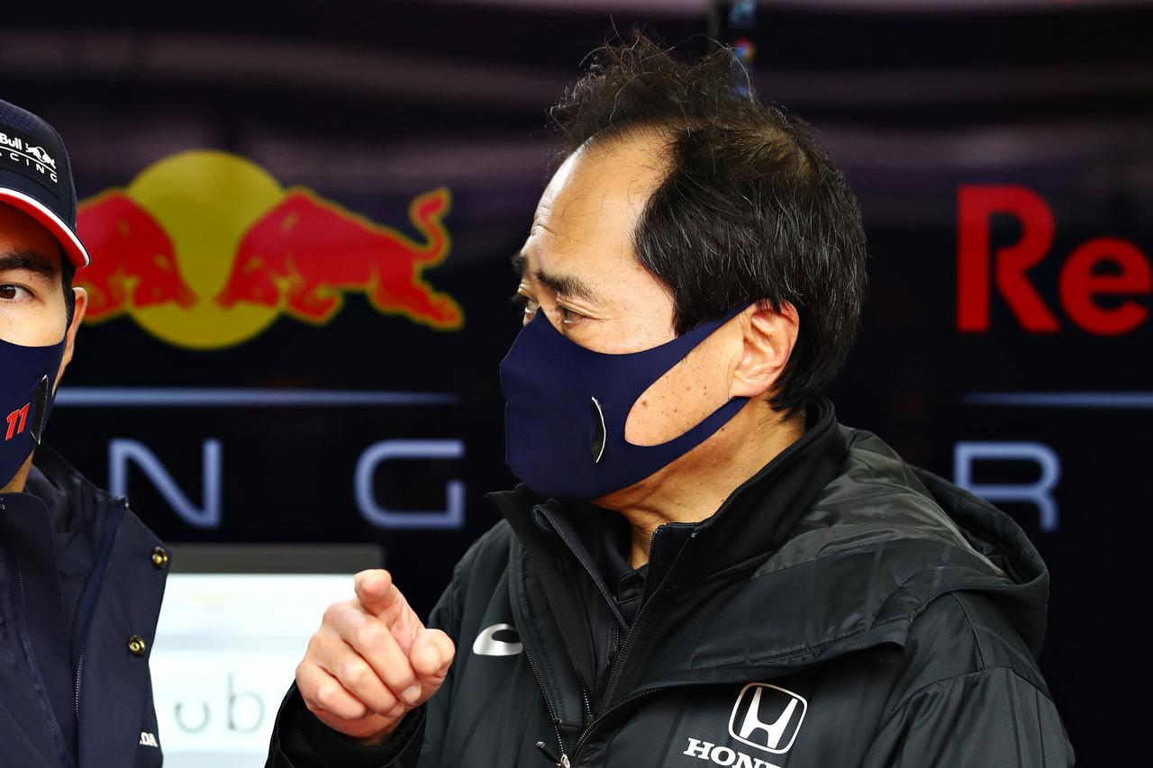 画像: ホンダの田辺豊治F1テクニカルディレクターも角田の走りを高評価。